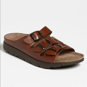 MEPHISTO ZACH Orthopedic Sandals Brown Leather 39
